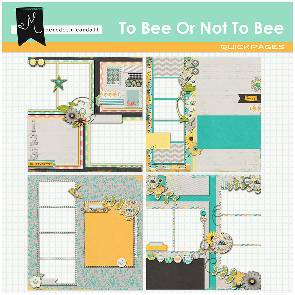 To Bee Or Not To Bee QuickPages