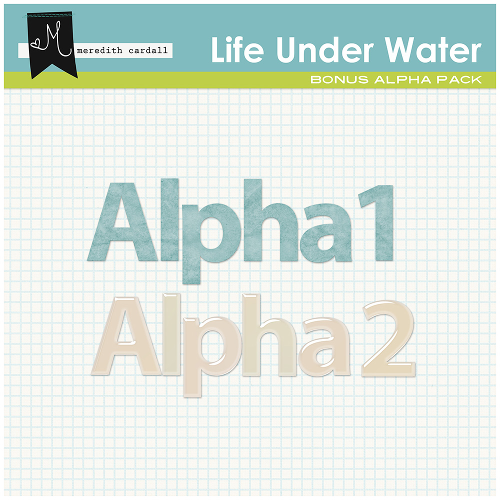 Life Under The Water Alpha