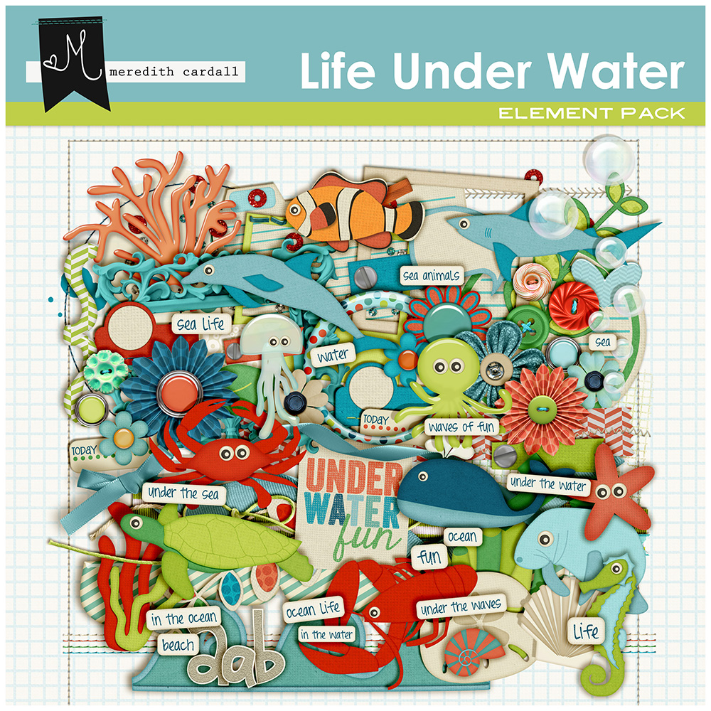Life Under The Water Kit
