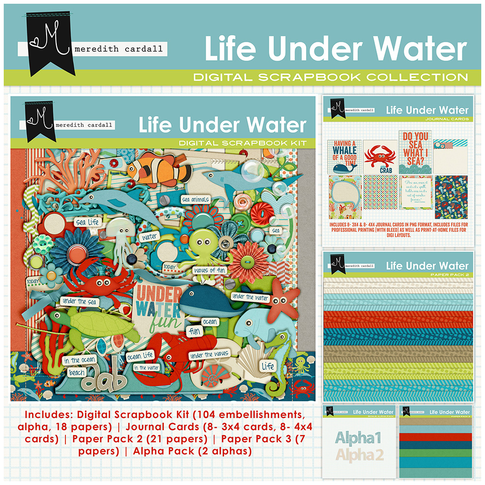 Life Under The Water Collection