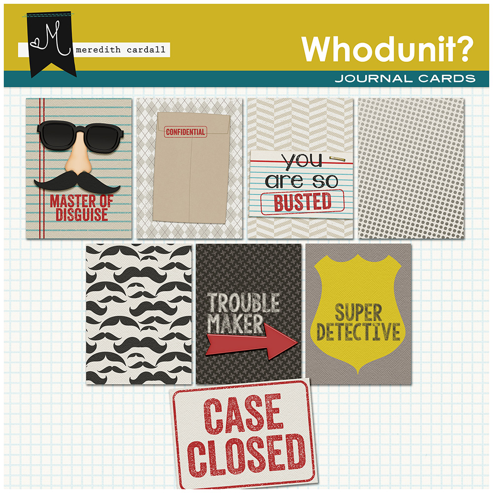 Whodunit Cards
