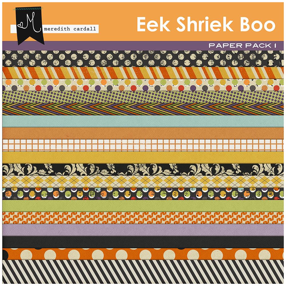 Eek Shriek Boo Kit