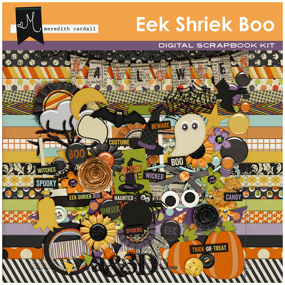Eek Shriek Boo Collection