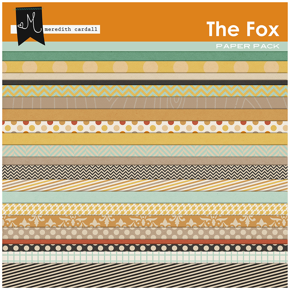 The Fox Paper Pack