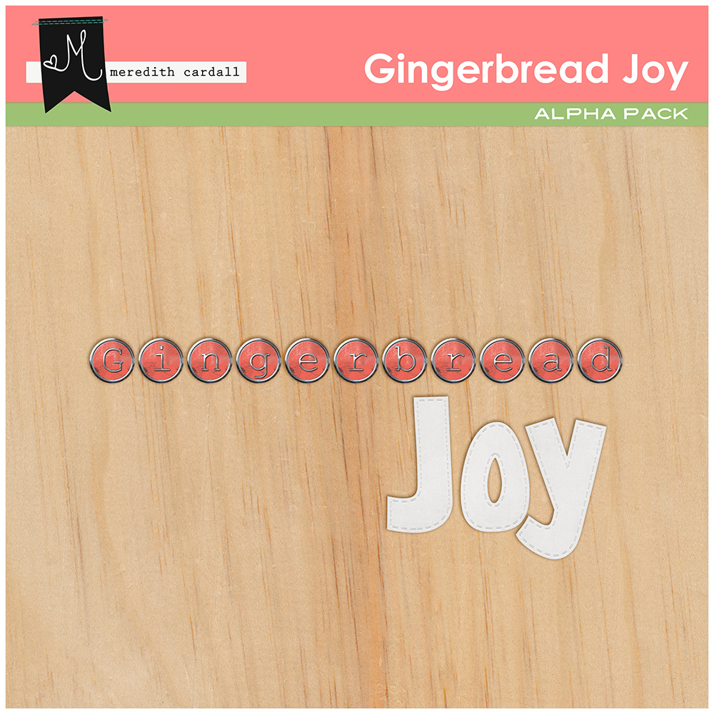 Gingerbread Joy Alpha