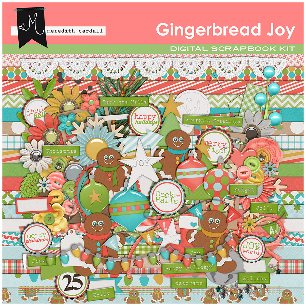 Gingerbread Joy Kit