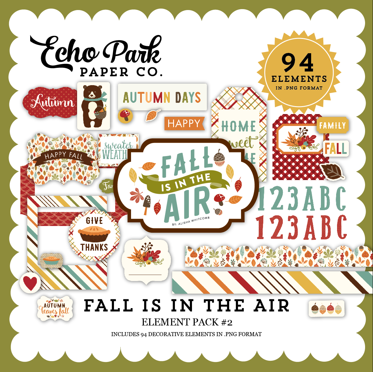 Fall is in the Air Element Pack 2