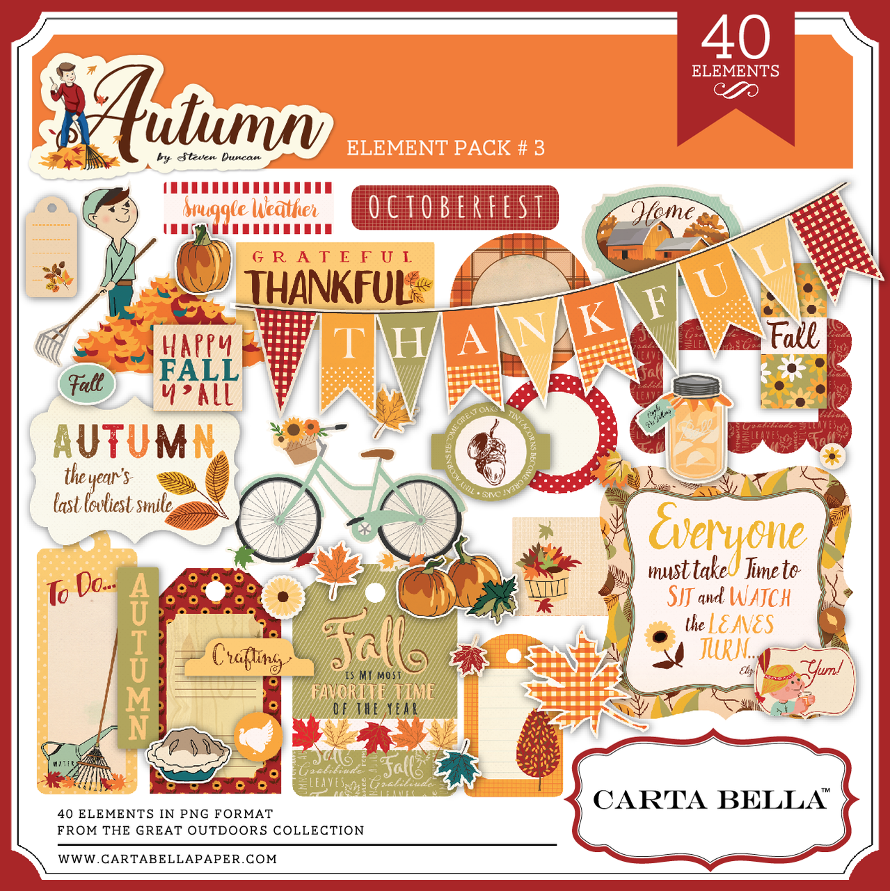 Autumn Element Pack 3