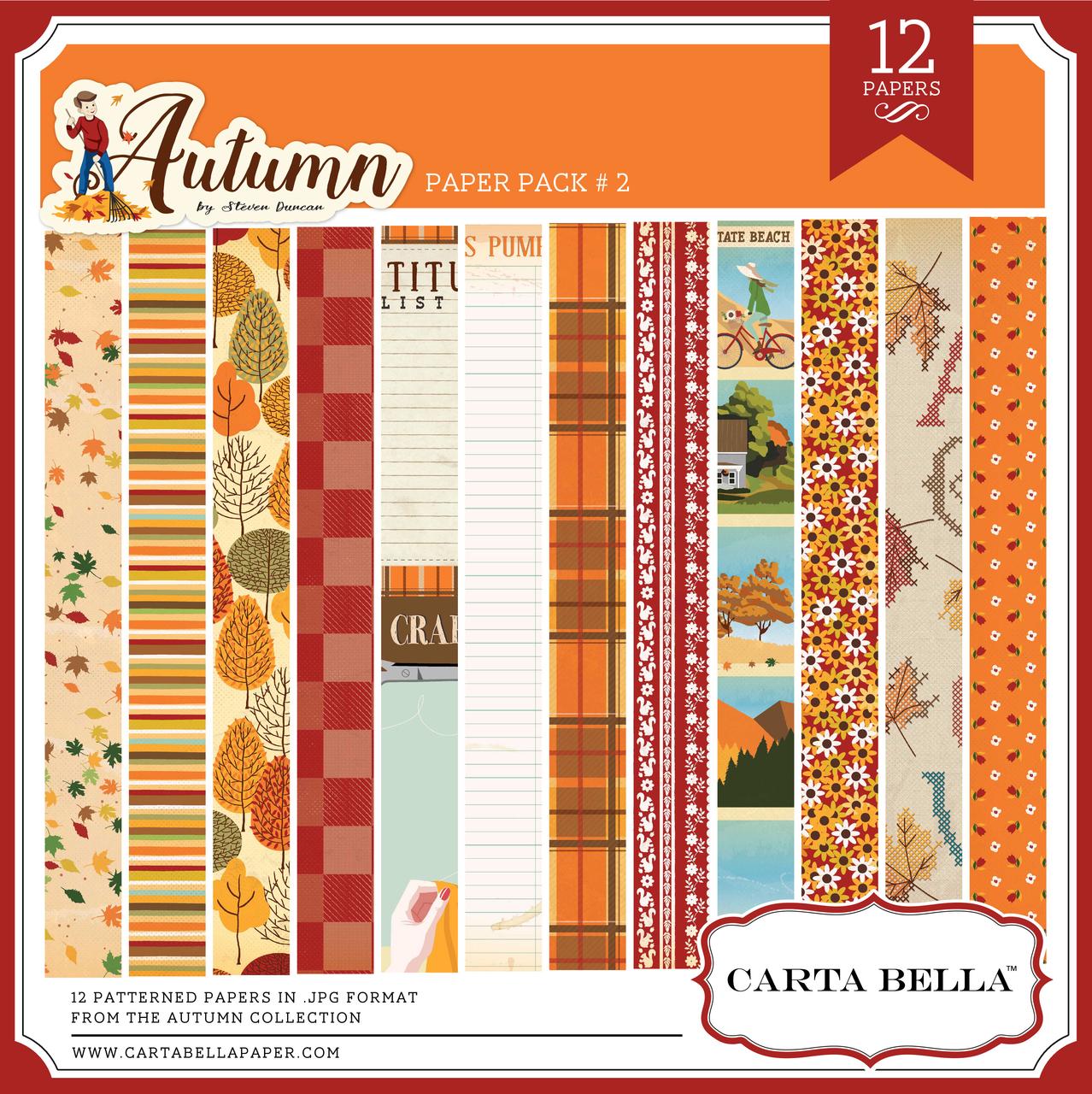Autumn Paper Pack 2
