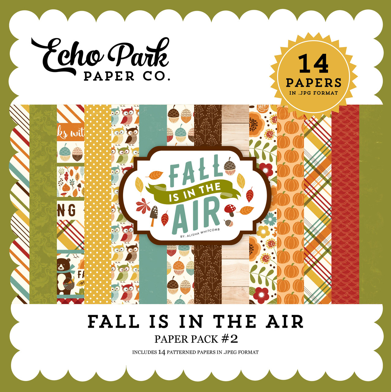 Fall is in the Air Paper Pack 2