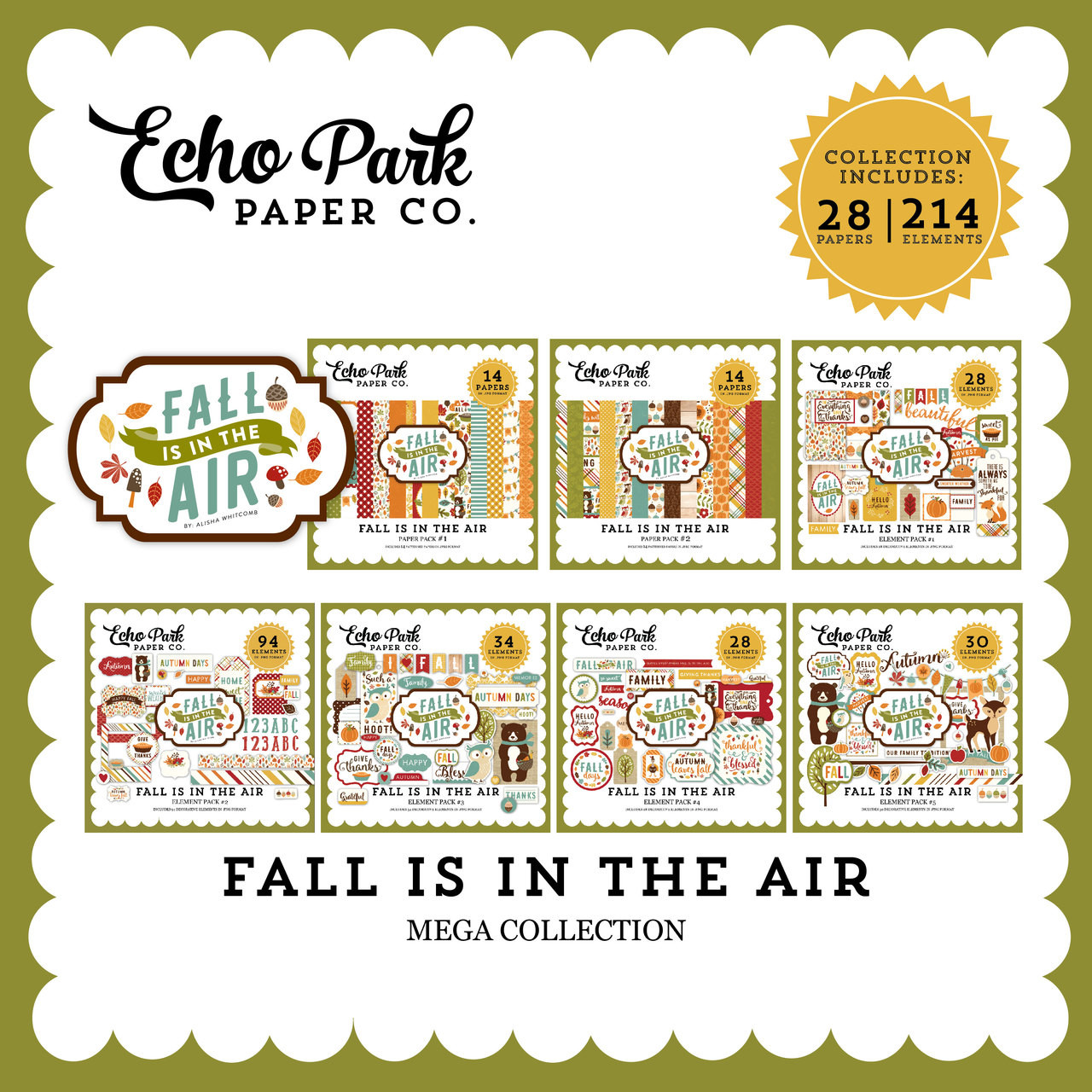 Fall is in the Air Mega Collection