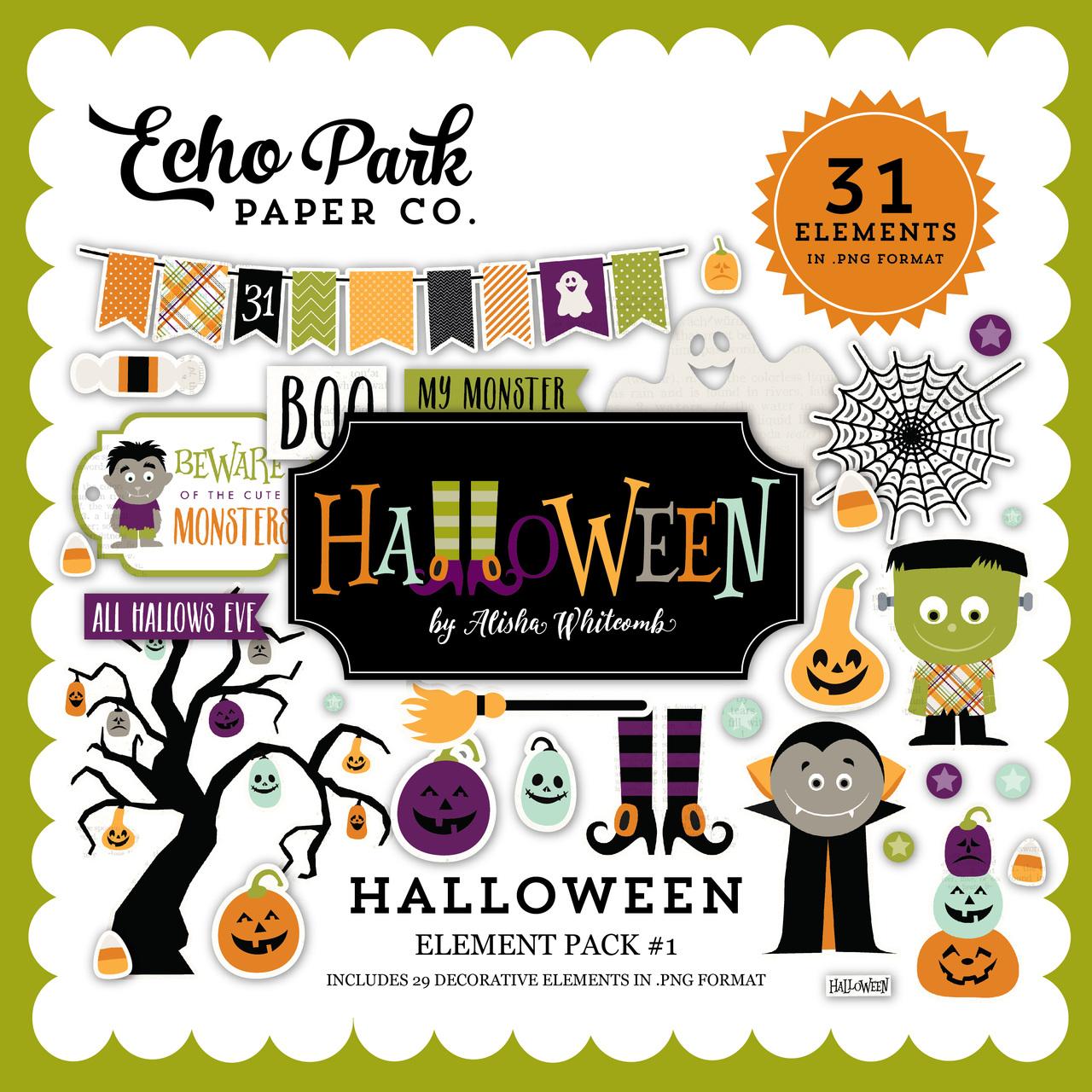Halloween Element Pack #1