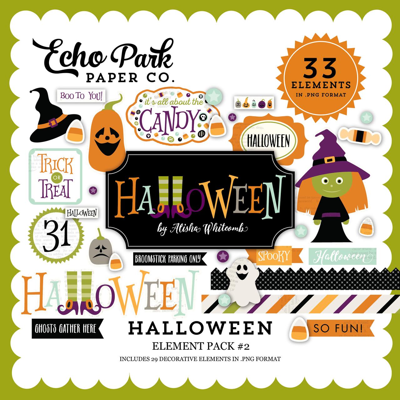 Halloween Element Pack #2