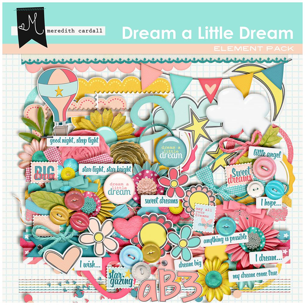 Dream A Little Dream Element Pack