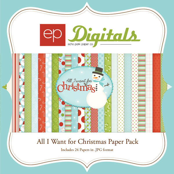 All I Want for Christmas Paper Pack