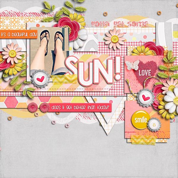 Sunshine & Smiles Paper Pack