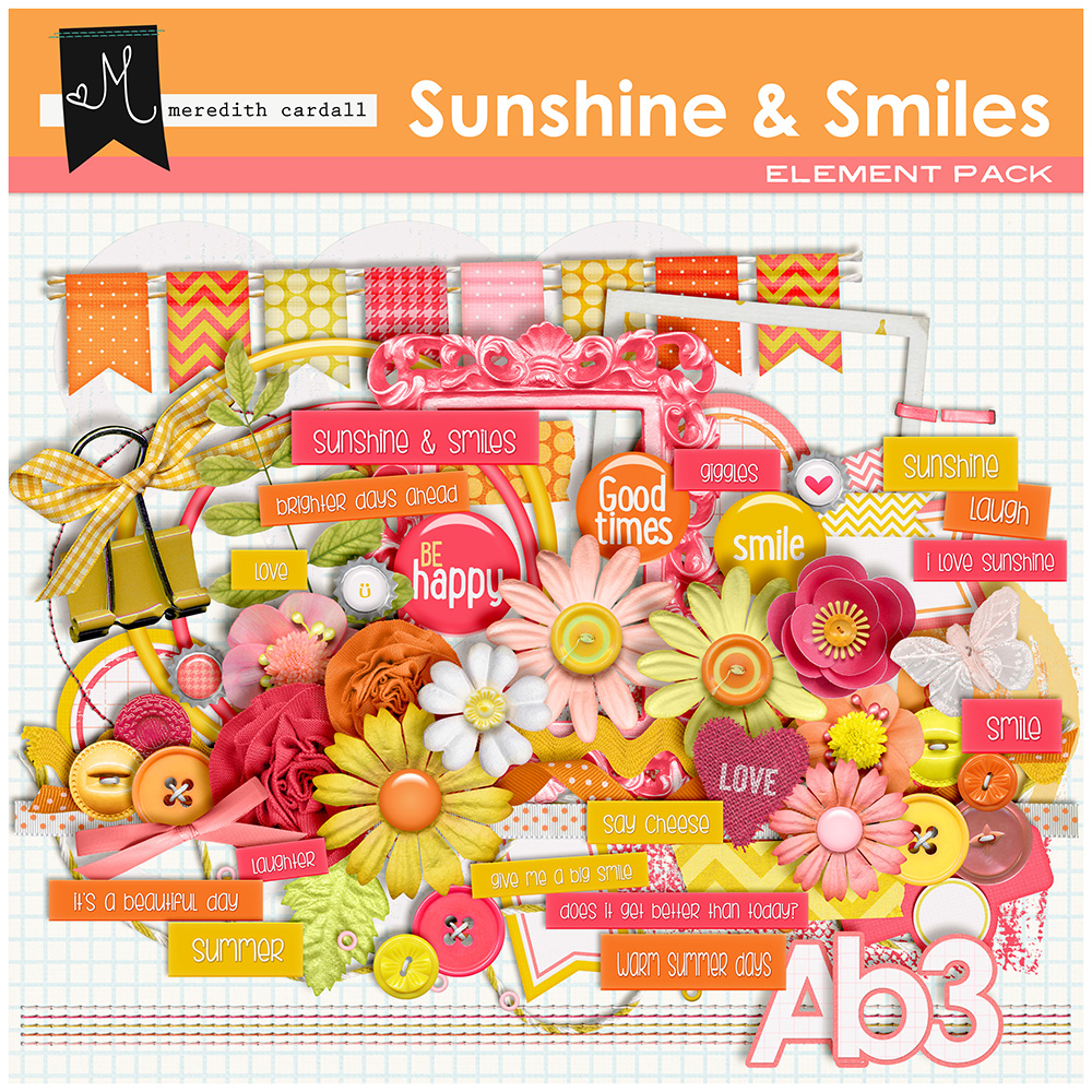 Sunshine & Smiles Element Pack