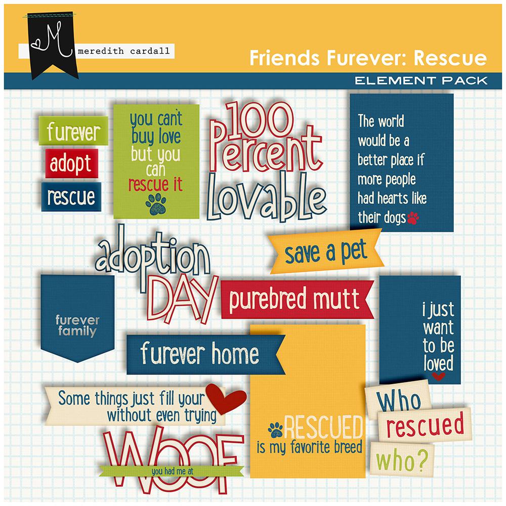 Friends Furever Rescue Pack