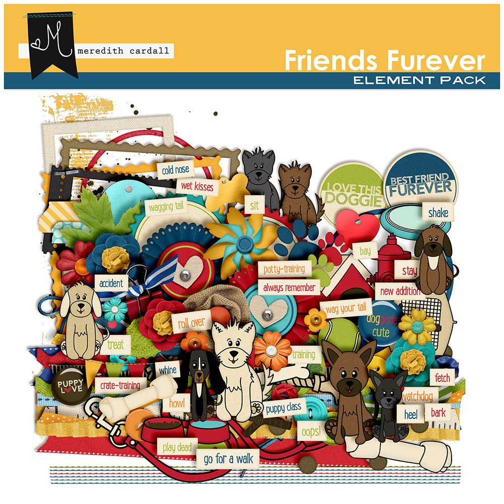 Friends Furever Element Pack