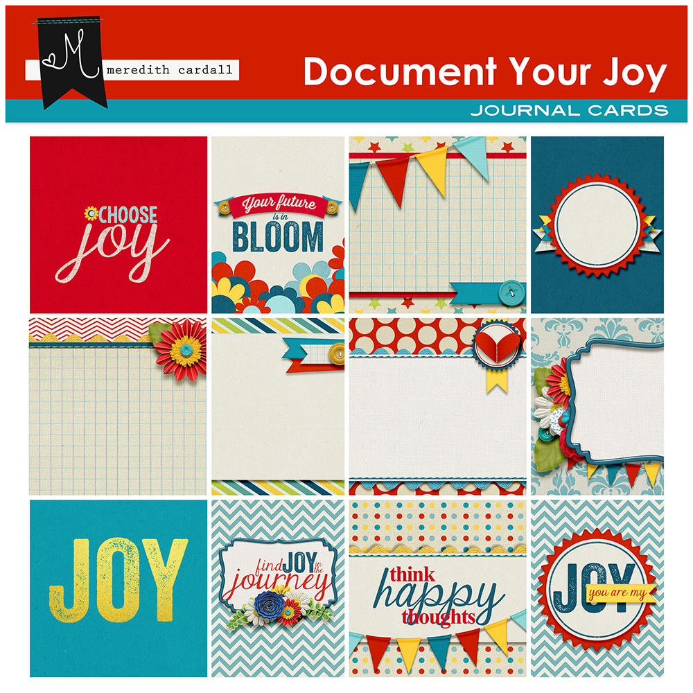Document Your Joy Journal Cards