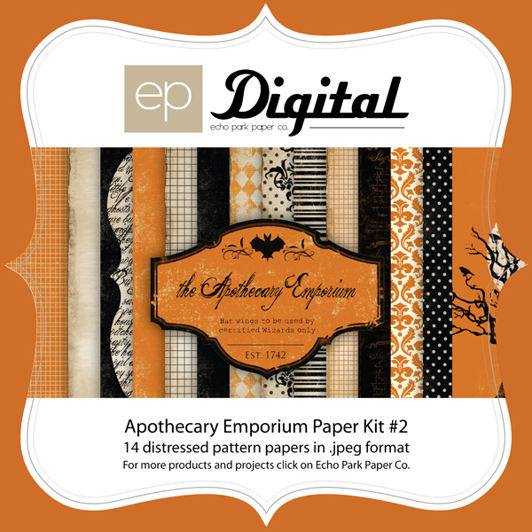 Apothecary Halloween Paper Pack #2