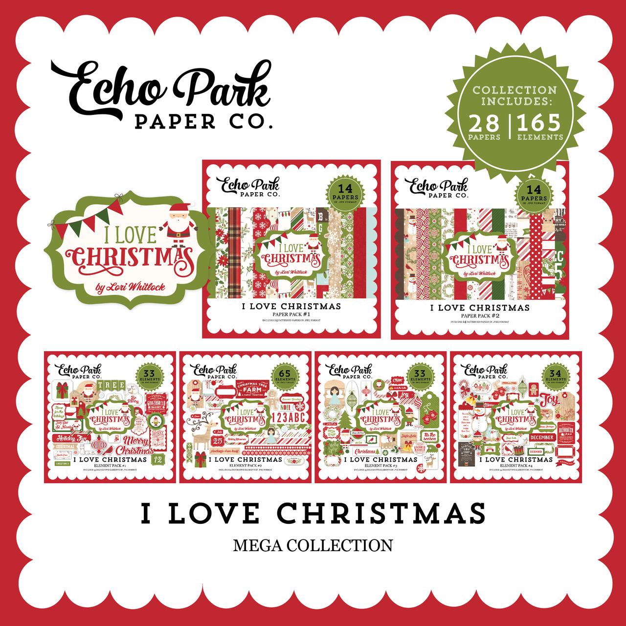 I Love Christmas Mega Collection