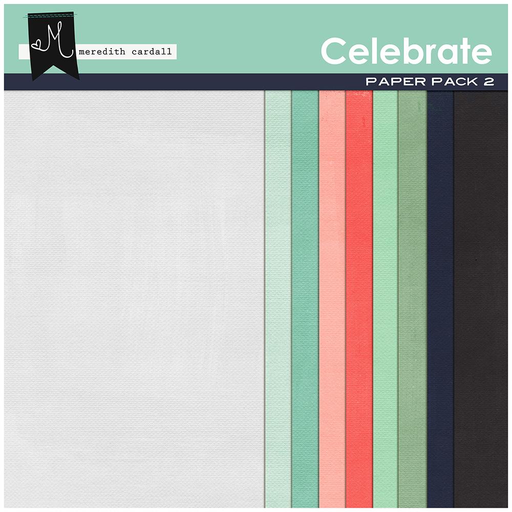 Celebrate Paper Pack 2