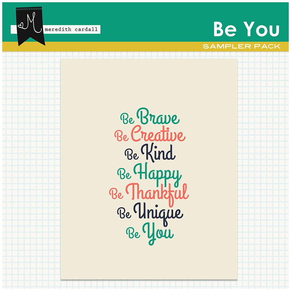 Be You Printable