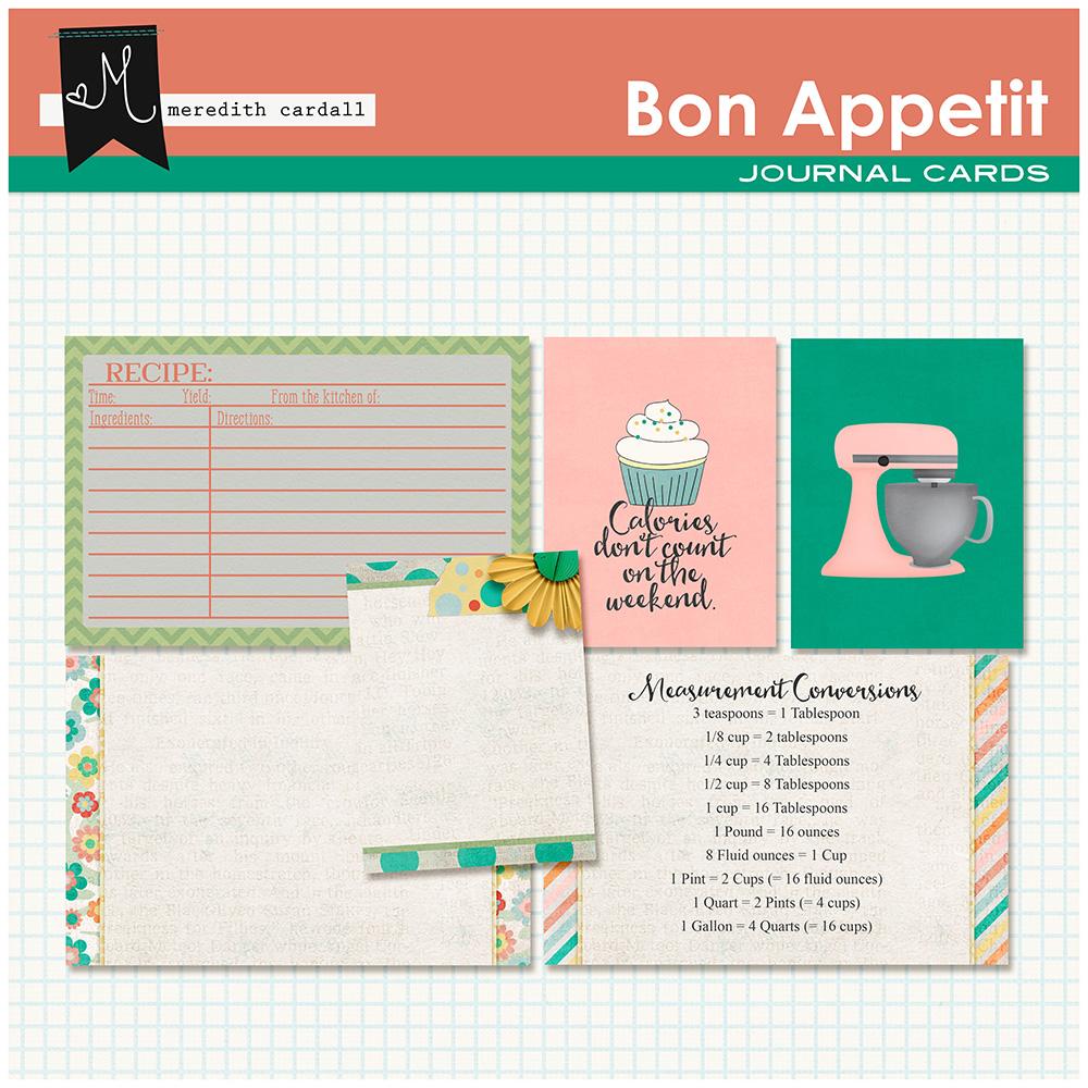 Bon Appetit Cards