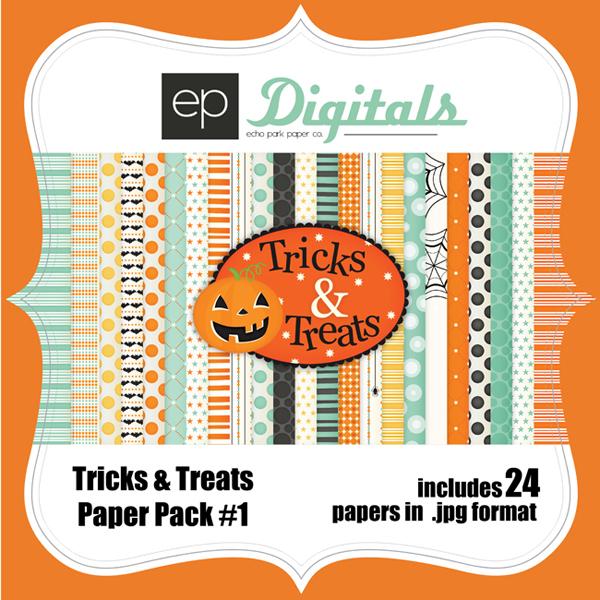 Tricks & Treats Paper Pack