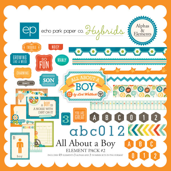 All About a Boy Element Pack #2