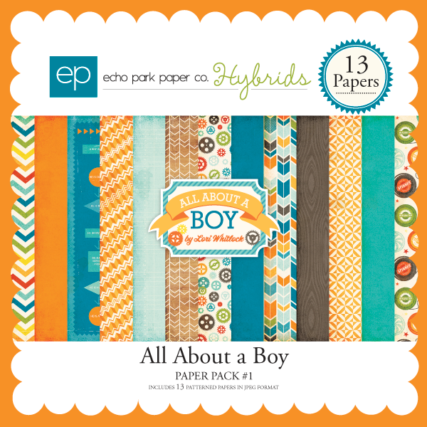 All About a Boy Paper Pack #1
