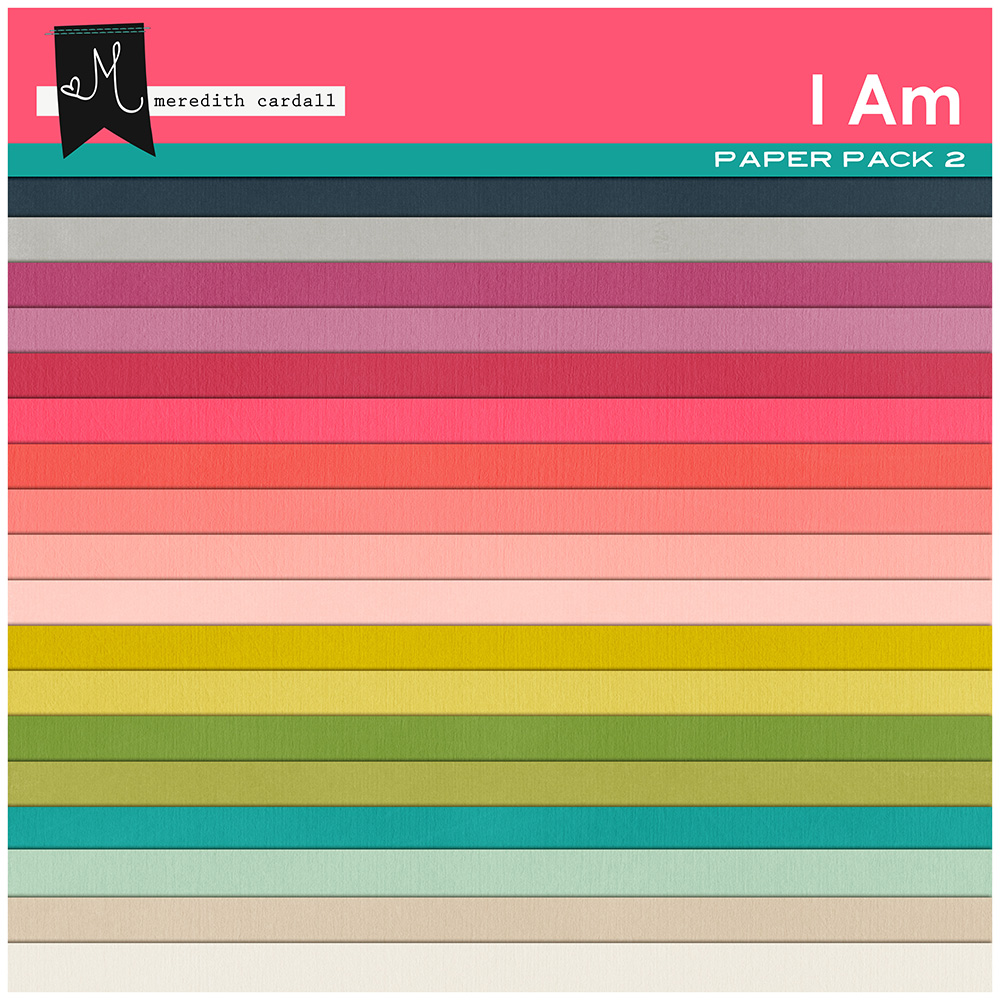 I Am Paper Pack 2
