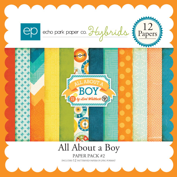 All About a Boy Paper Pack #2