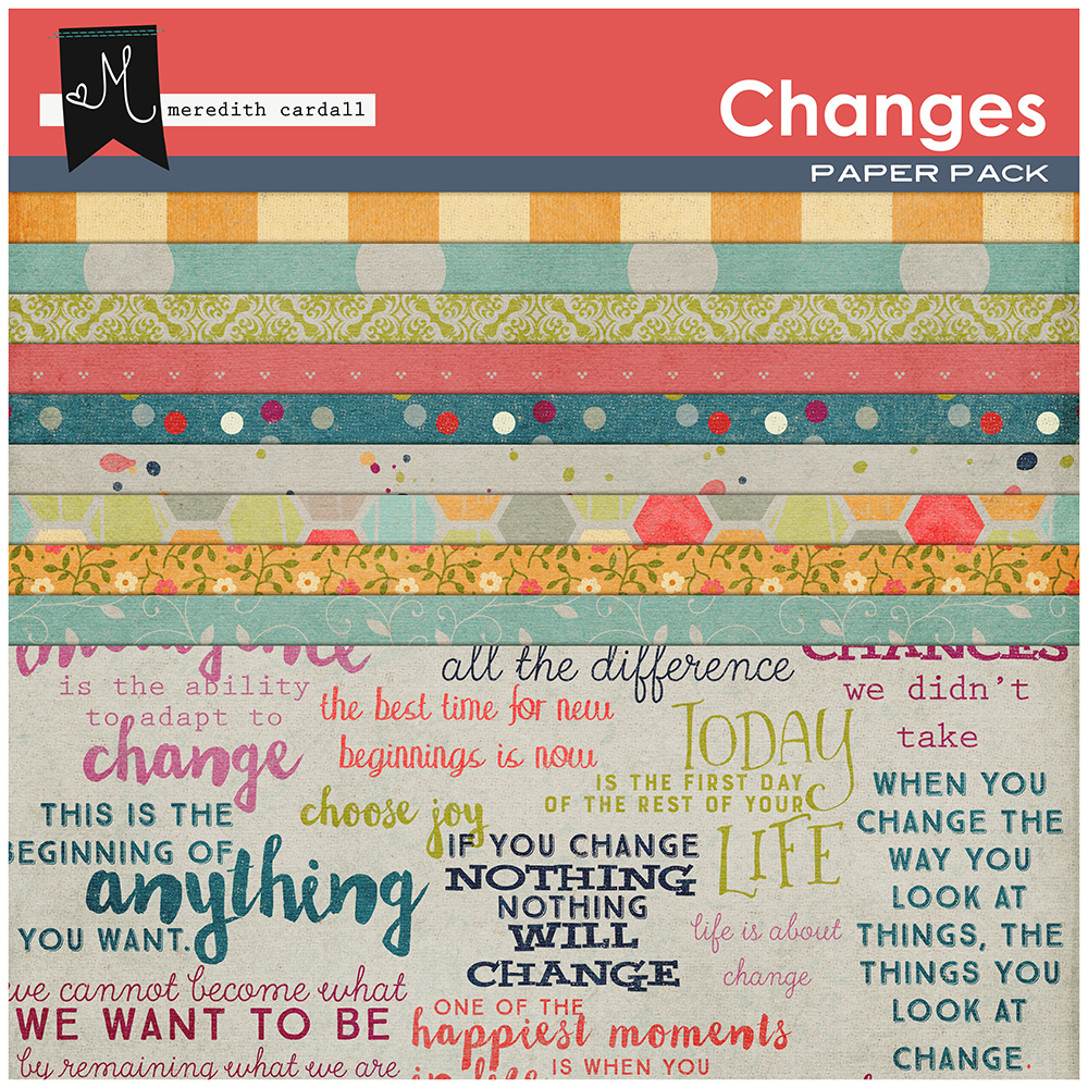 Changes Paper Pack