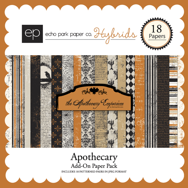 Apothecary Add-On Paper Pack