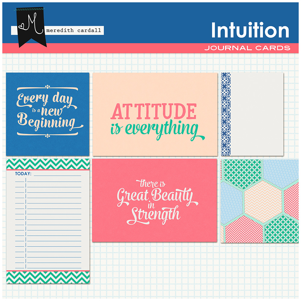 Intuition Journal Cards