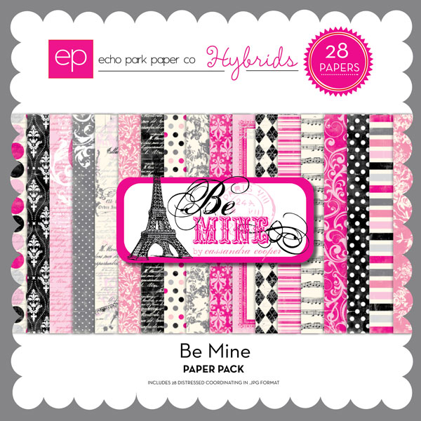 Be Mine Paper Pack