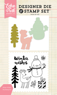 Winter Wishes Die/Stamp Set