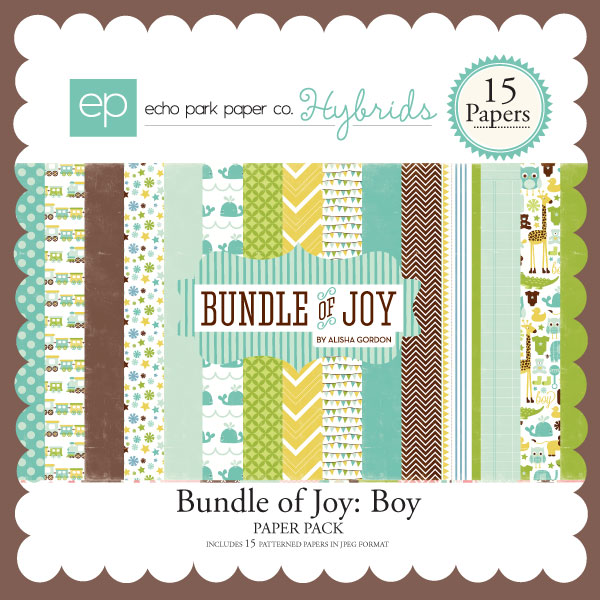 Bundle of Joy: Boy Paper Pack
