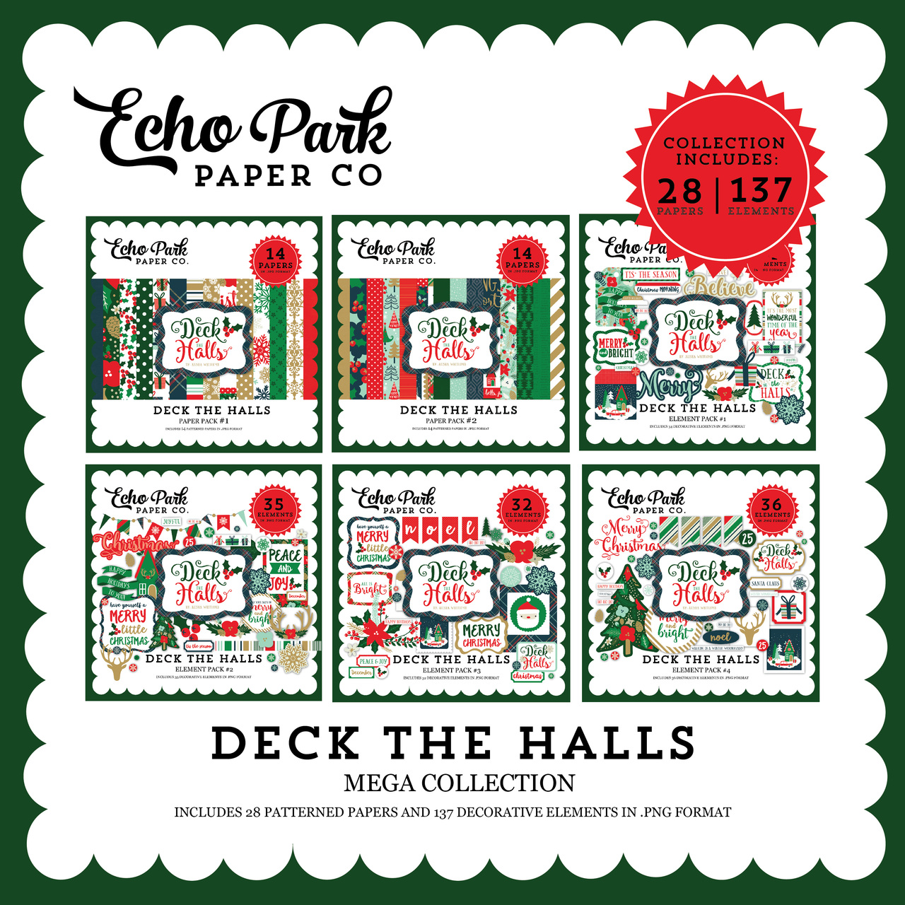 Deck the Halls Mega Collection