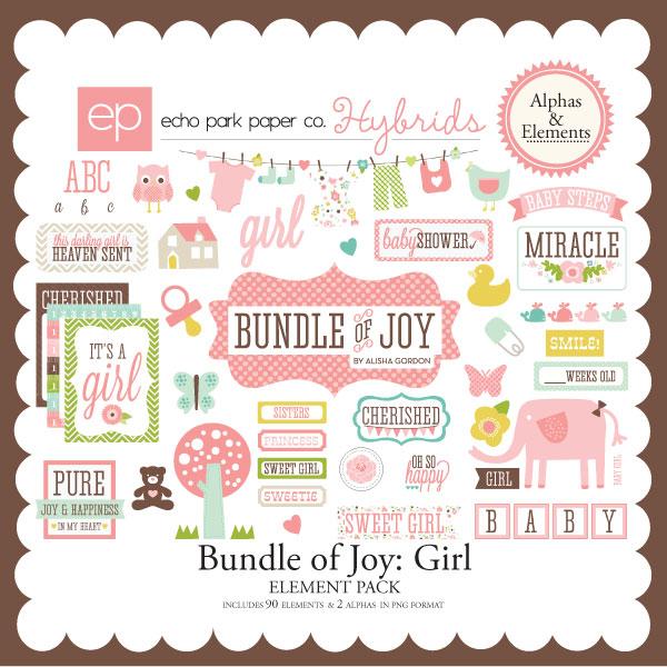 Bundle of Joy: Girl Elements