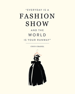 Fashion Show Art Print - 8x10