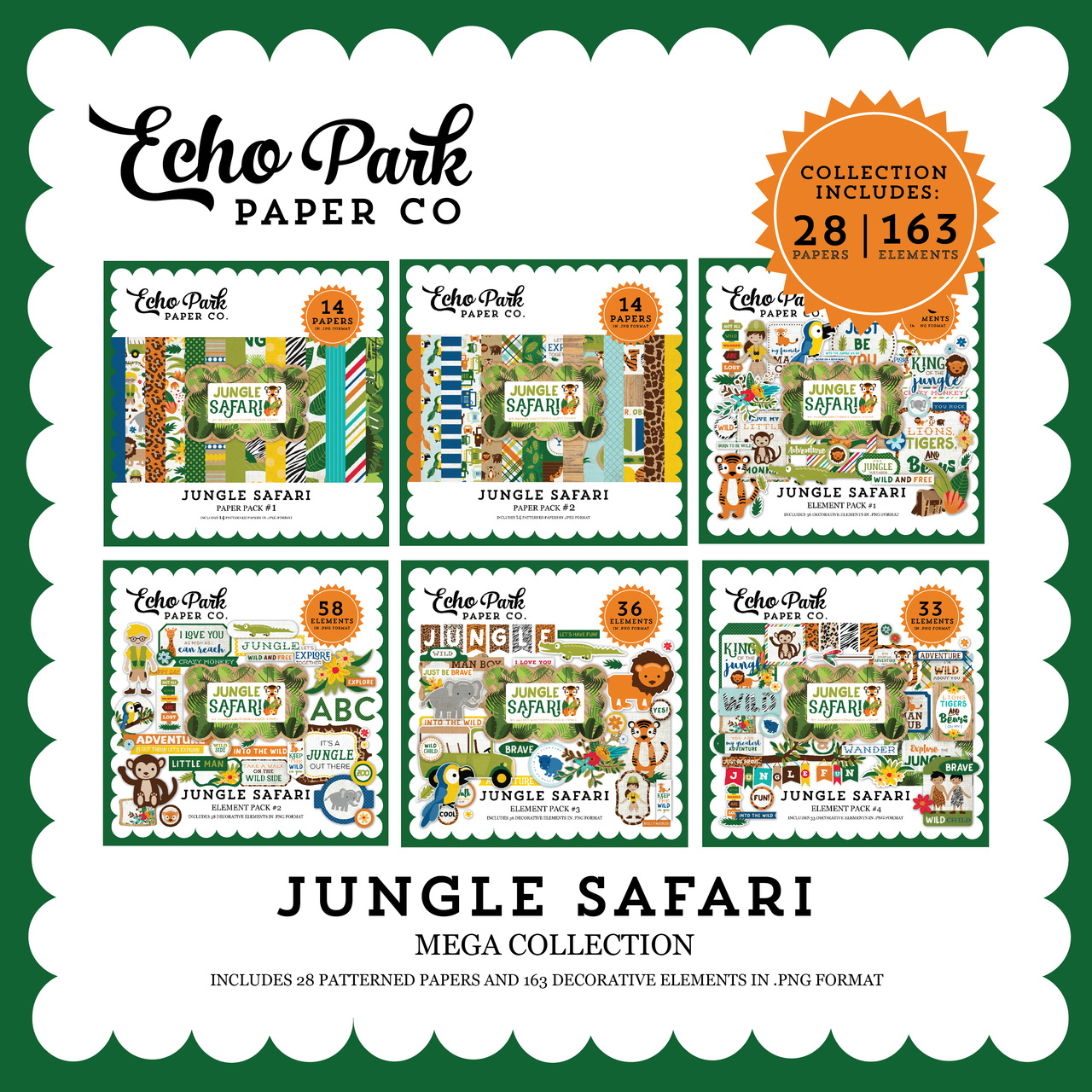Jungle Safari Mega Collection