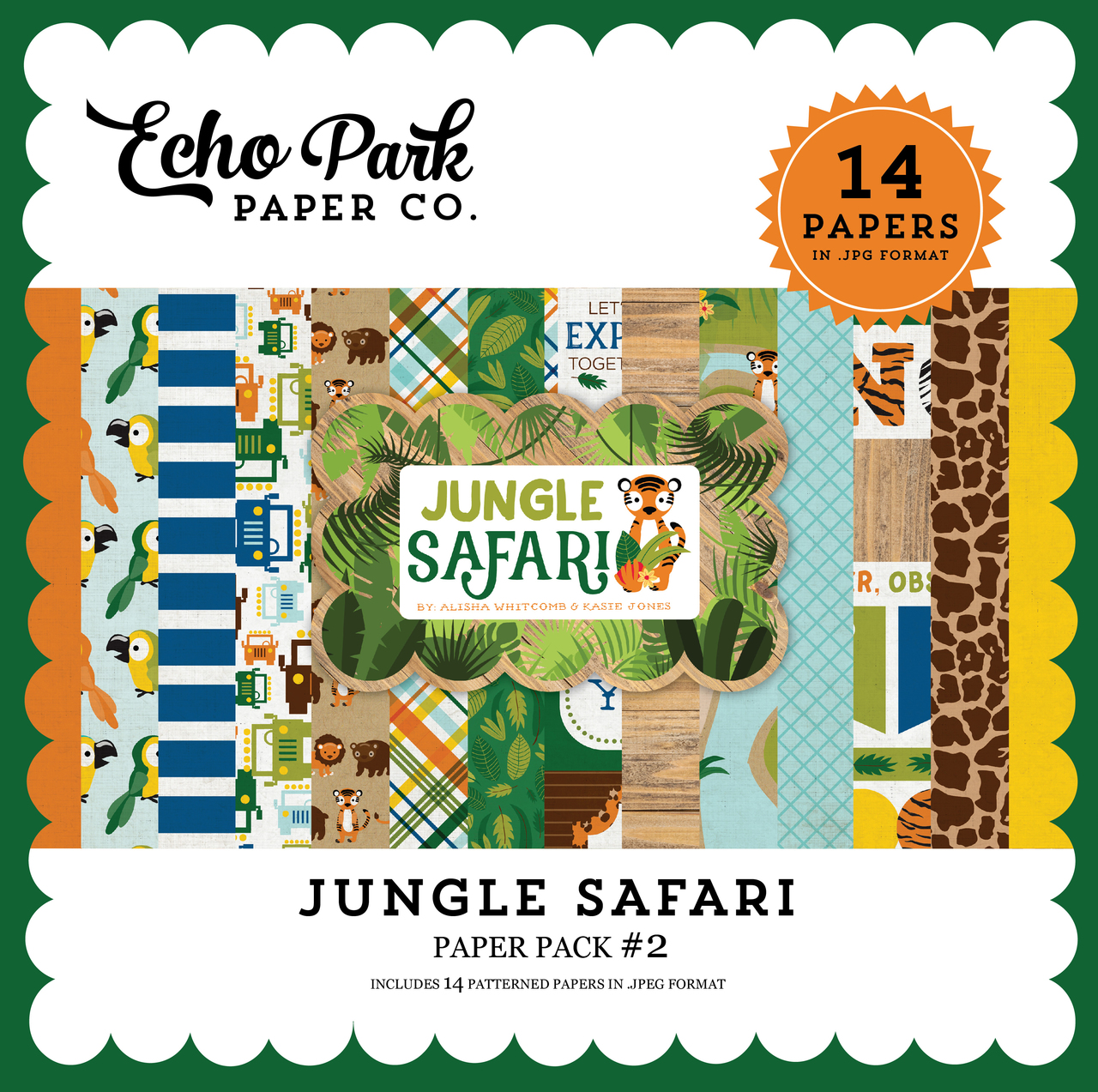 Jungle Safari Paper Pack #2