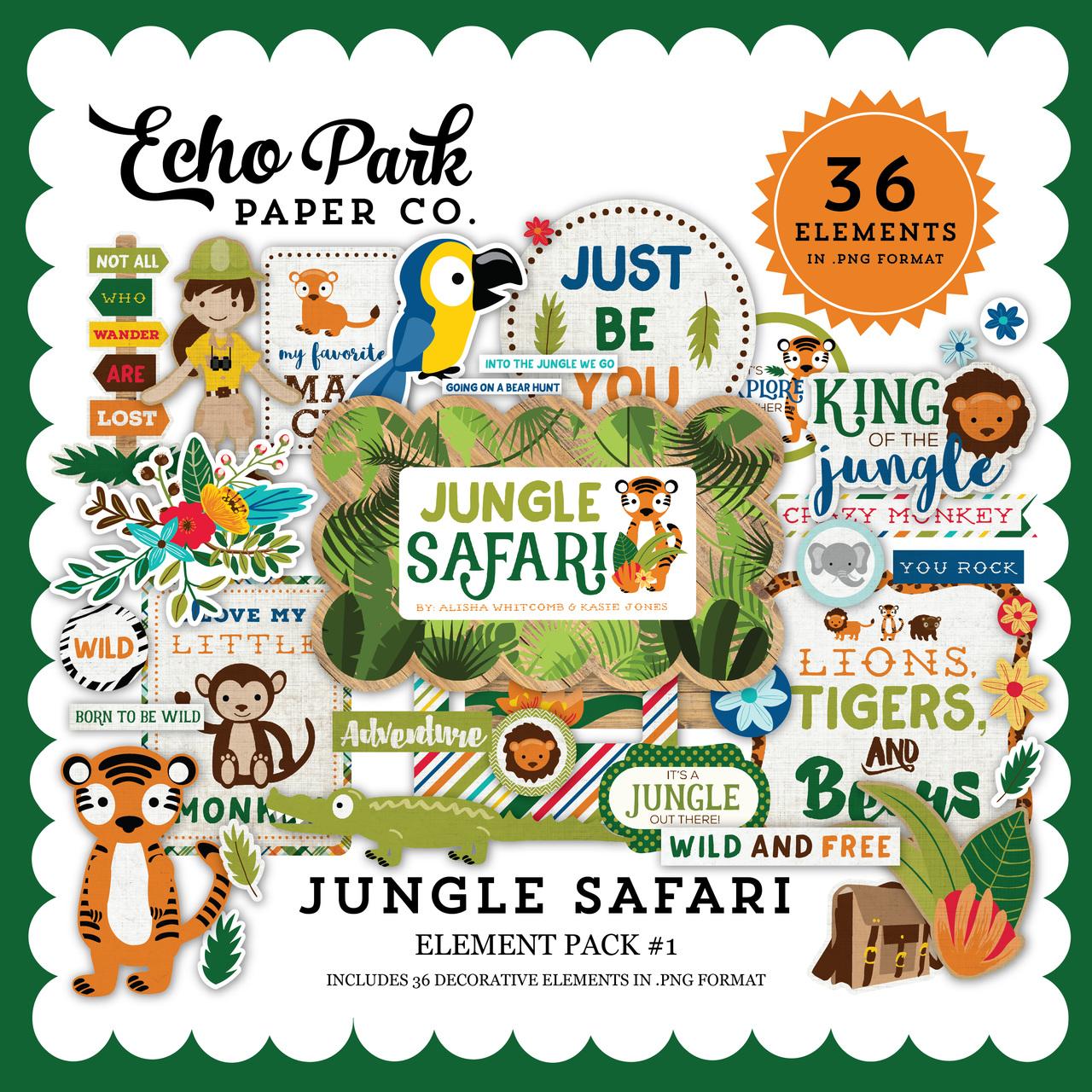 Jungle Safari Element Pack #1