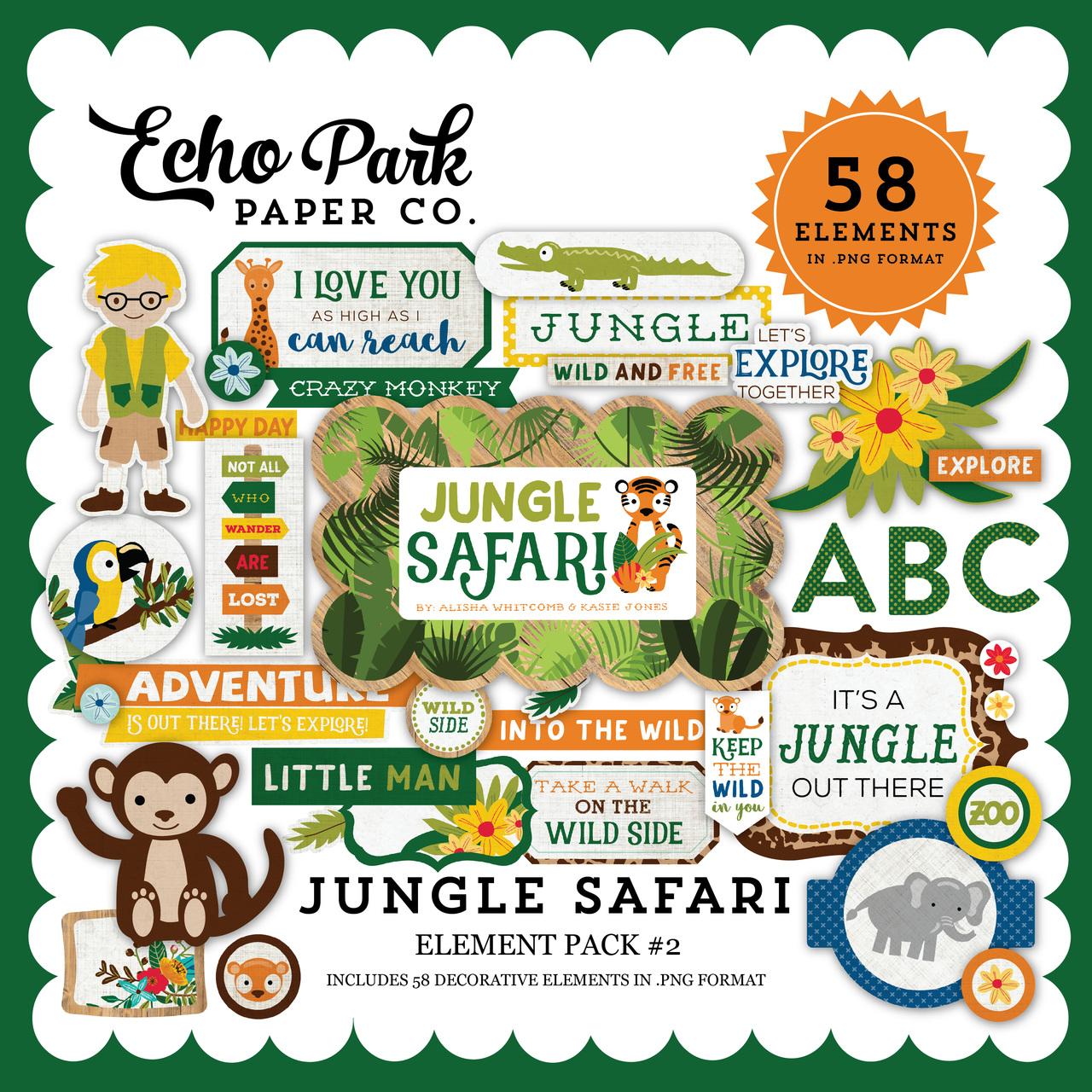 Jungle Safari Element Pack #2