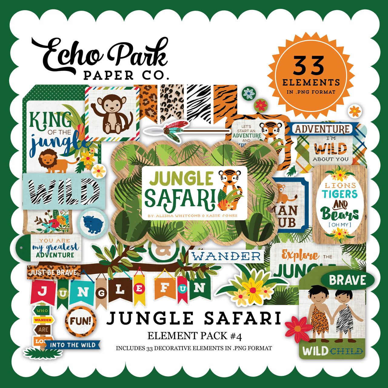 Jungle Safari Element Pack #4