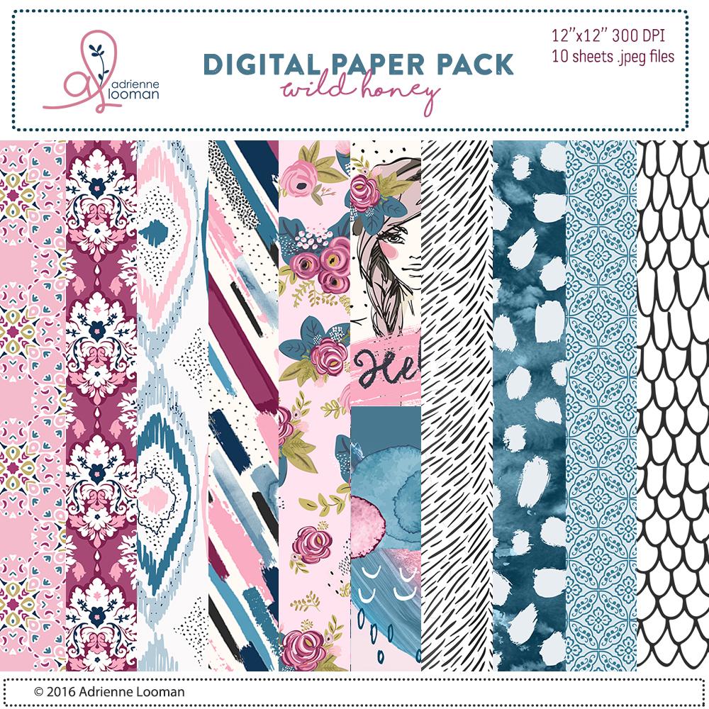 Wild Honey Paper Pack
