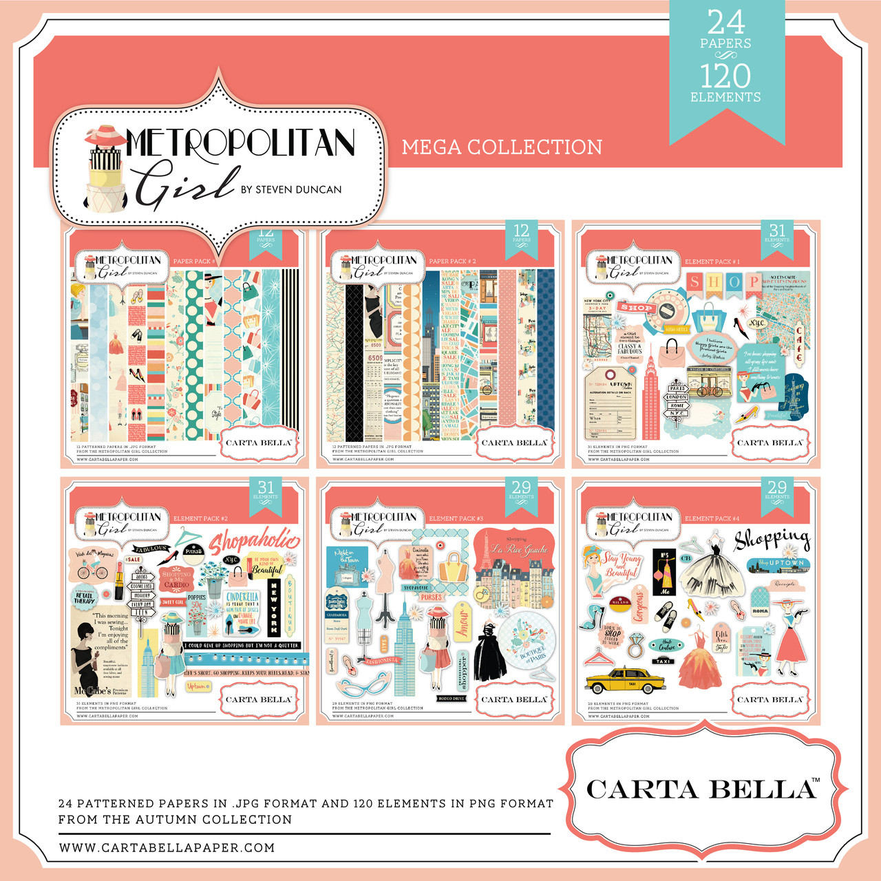 Metropolitan Girl Mega Collection